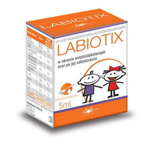 Labiotix Zawiesina doustna 5 ml