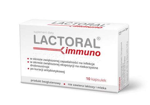 Lactoral immuno x 10 kapsułek