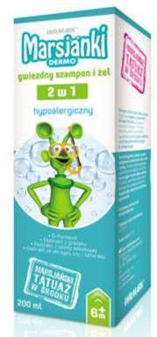 MARSJANKI Dermo gwiezdny szampon i żel (2w1) 200ml