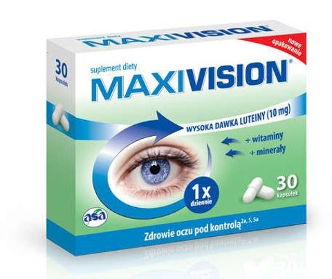 MAXIVISION x 30 kapsułek