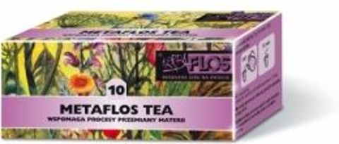 METAFLOS TEA 10 2g x 25 saszetek