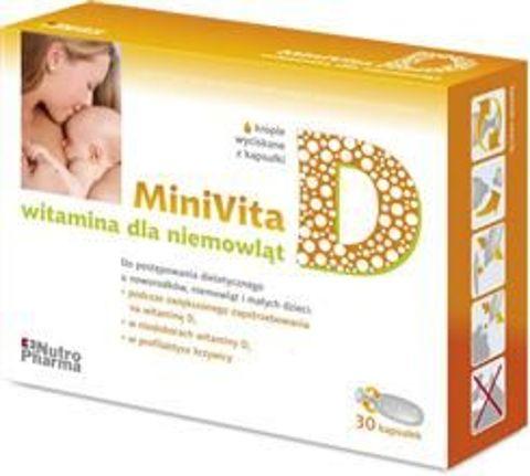 MINIVITA D x 30 kapsułek twist-off