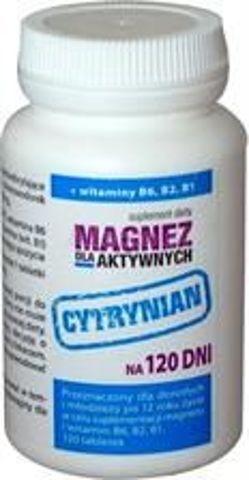 Magnez dla aktywnych x 120 tabletek