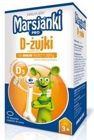 Marsjanki Pro D-żujki x 30 kapsułek