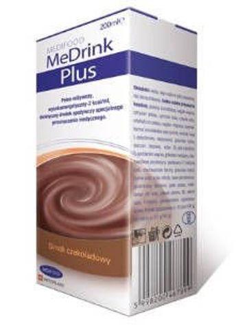 MeDrink Plus Płyn czekoladowy 200ml