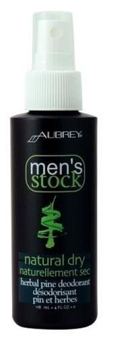 Men's Stock Natural Dry Dezodorant w sprayu z olejkiem sosnowym dla mężczyzn 118ml