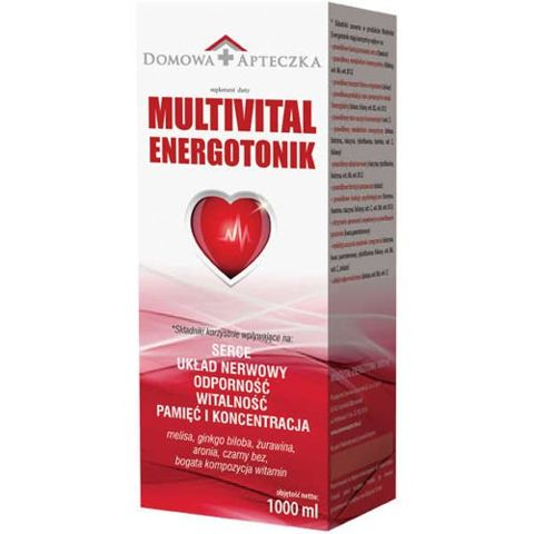 Multivital Energotonik płyn 1000ml