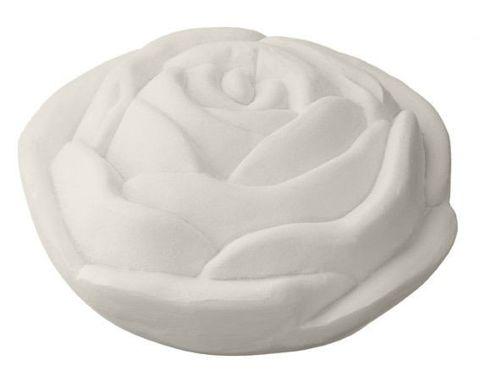 Mydło MELOS w kształcie róży (kolor kremowy) 100g