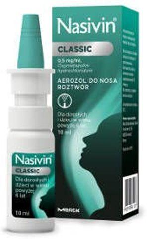 NASIVIN Soft 0,05% aerozol 10ml