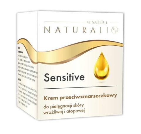 NATURALIS Sensitive Krem przeciwzmarszczkowy do pielęgnacji skóry wrażliwej i atopowej 50ml
