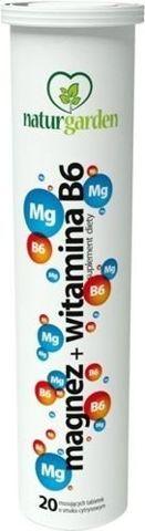 NATURGARDEN Magnez + Witamina B6 x 20 tabletek musujących