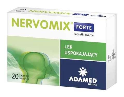 NERVOMIX FORTE x 20 kapsułek