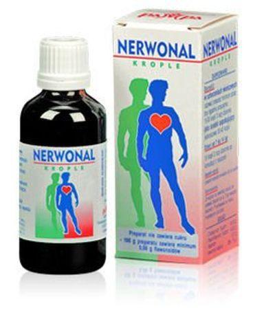 NERWONAL krople 50g