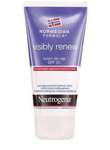 NEUTROGENA FN Visibly renew krem do rąk SPF20 75ml