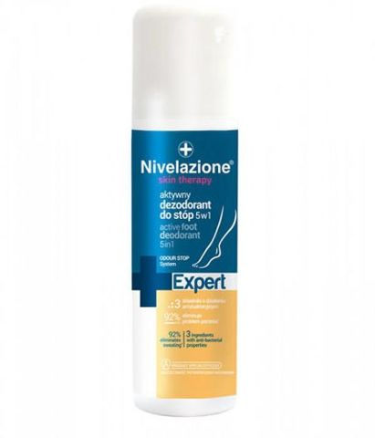 NIVELAZIONE Skin Therapy aktywny dezodorant do stóp 5w1 150ml