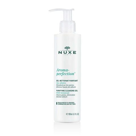 NUXE Aroma-Perfection żel do mycia twarzy 200ml