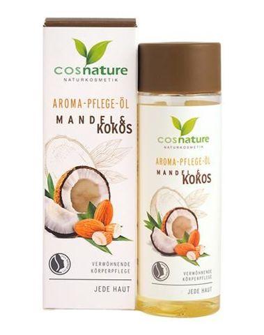Naturalny aromatyczny migdałowo-kokosowy olejek do pielęgnacji ciała 100ml