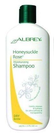 Nawilżający szampon do włosów suchych i łamliwych z olekiem z dzikiej róży i wyciągiem z wiciokrzewu 325ml