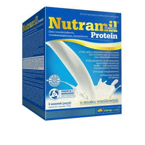 Nutramil complex Protein o smaku waniliowym x 6 saszetek