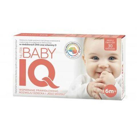 Nutri Baby IQ x 30 kapsułek twist-off