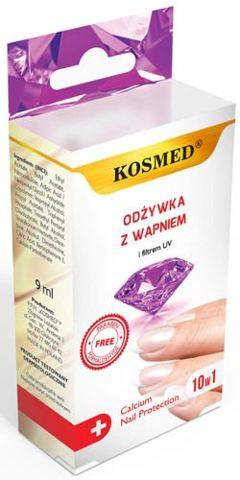 ODŻYWKA do paznokci z wapniem + filtr UV 9ml