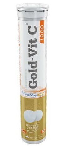 OLIMP Gold-Vit C 1000 smak pomarańczowy x 20 tabletek musujących