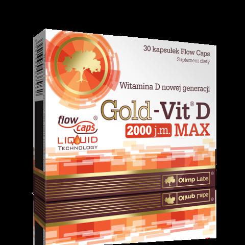 OLIMP Gold-Vit D Max 2000 j.m. x 30 kapsułek