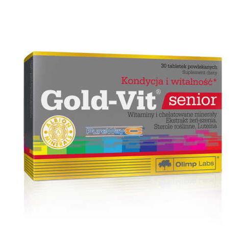 OLIMP Gold-Vit Senior x 30 tabletek - data ważności 21-09-2017r.