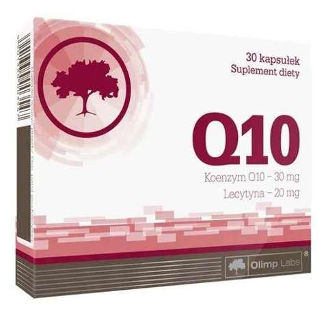 OLIMP Q10 Koenzym + Lecytyna x 30 kapsułek