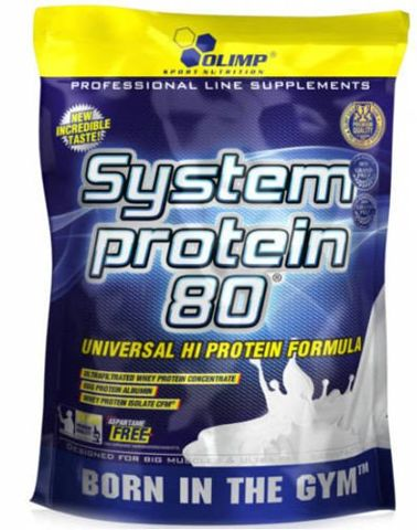 OLIMP System Protein 80 700g banan