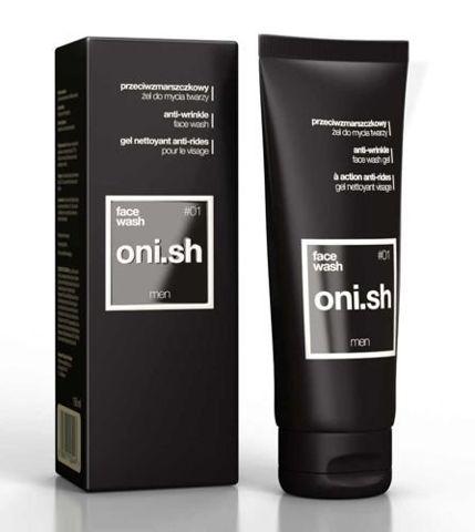 ONI.SH przeciwzmarszczkowy żel do mycia twarzy dla mężczyzn 150ml