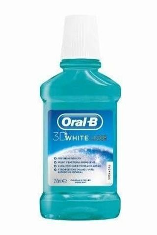 ORAL-B 3D WHITE LUXE Płyn do płukania jamy ustnej 250ml