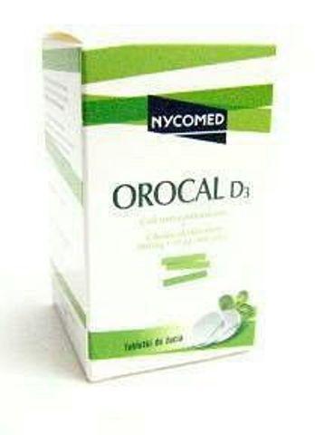 OROCAL D3 x 30 tabletek do żucia