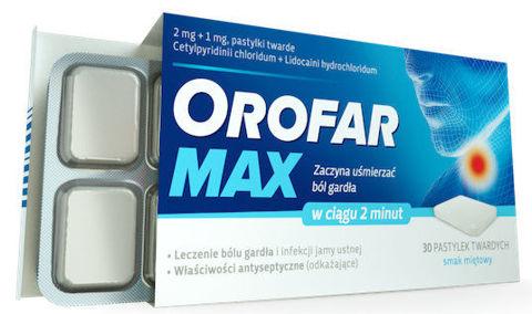OROFAR MAX x 30 pastylek