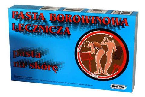 PLASTRY BOROWINOWE - Pasta borowinowa lecznicza 18 x 30cm x 5 sztuk