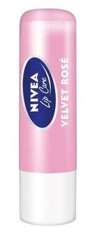 POMADKA NIVEA VELVET ROSE Pomadka 4,8g