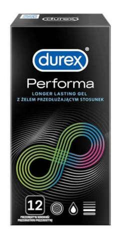PREZERWATYWA DUREX Performa x 12 sztuk