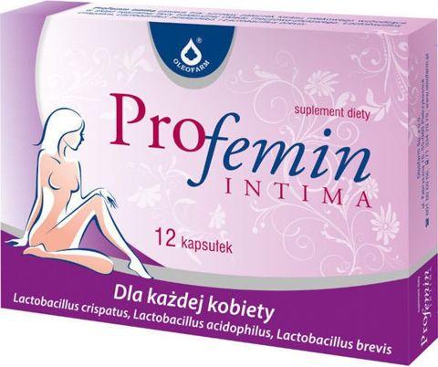 PROFEMIN INTIMA x 12 kapsułek