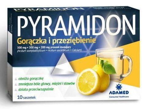 PYRAMIDON x 10 saszetek
