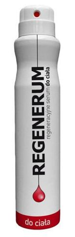 REGENERUM Regeneracyjne serum do ciała spray 180ml - data ważności 30-04-2017r.