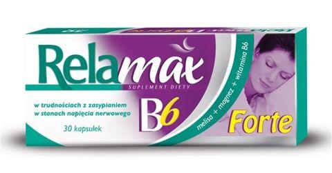 RELAMAX B6 forte x 30 kapsułek