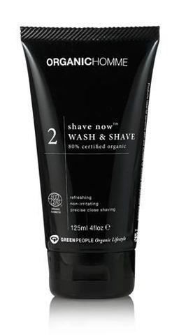 SHAVE NOW Żel do mycia twarzy i golenia dla mężczyzn 125ml