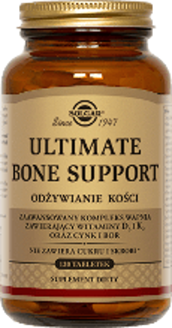 SOLGAR Bone Support Ultimate x 120 tabletek