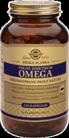 SOLGAR Pełne Spektrum Omega Łosoś Alaskański x 120 kapsułek