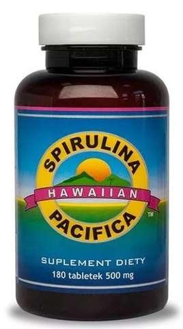 SPIRULINA PACIFICA 500mg x 180 tabletek