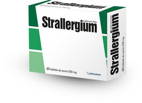 STRALLERGIUM x 60 tabletek do ssania