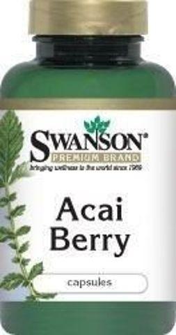 SWANSON Acai Berry 500mg x 120 kapsułek