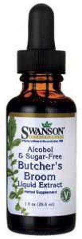SWANSON Butcher's Broom liquid extract (Ruszczyk kolczasty) 29,6ml