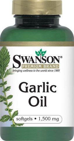 SWANSON Garlic Oil 1500 x 500 kapsułek