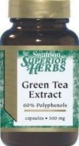 SWANSON Green Tea Extract x 60 kapsułek